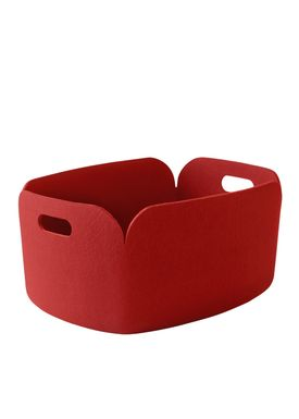 Muuto - Korg - Restore Basket - Red