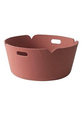 Muuto - Basket - Restore Round Basket - Rose