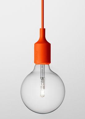 Muuto - Lampe - E27 - Orange