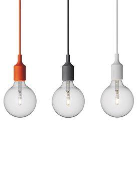 Muuto - Lampe - E27 - Lys Grå