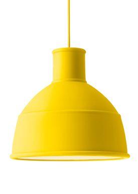 Muuto - Pendants - Unfold Pendant - Yellow