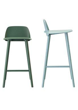 Muuto - Chair - Five Pouf - Green