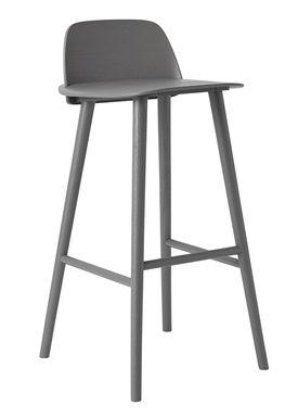 Muuto - Chair - Five Pouf - Dark Grey