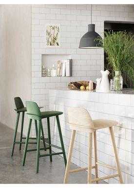 Muuto - Chair - Five Pouf - Grey