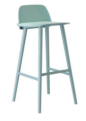 Muuto - Chair - Five Pouf - Petroleum