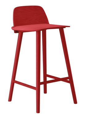 Muuto - Chair - Five Pouf - Red