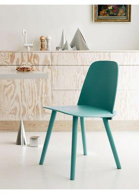 Muuto - Chair - Nerd Chair - Tourqoise