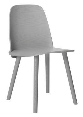 Muuto - Chair - Nerd Chair - Grey
