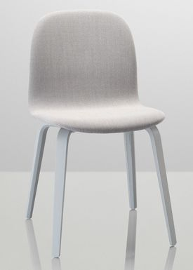 Muuto - Chair - Visu Chair - Wood Base - Grey legs/Steelcut Trio 133