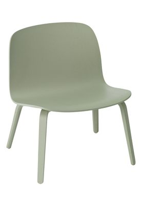 Muuto - Chair - Visu Lounge Wood - Dusty Green