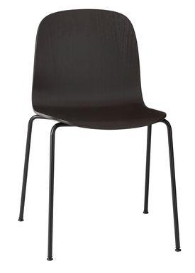Muuto - Chair - Visu Tube Base - Black