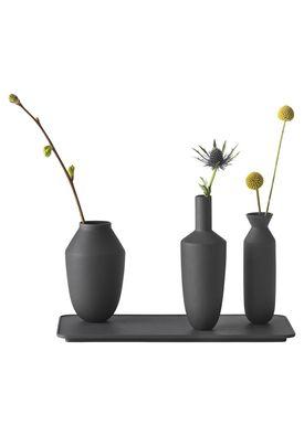 Muuto - Vase - Balance Vase Set - 3 Vase-set - Black