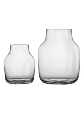 Muuto - Vase - Silent Vase - Small - Clear