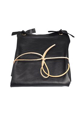 MWT - Apron - Black Leather Apron - Black Leather