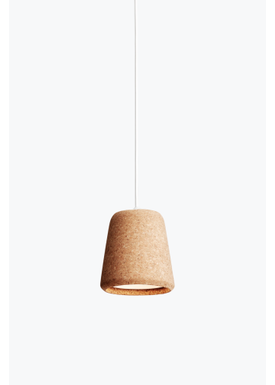 New Works - Lamp - Material Pendant - Natur Kork