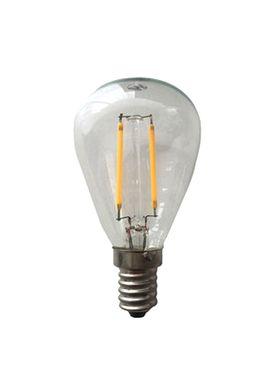 New Works - Bulb - LED Filament Light Bulb - Smoked glass