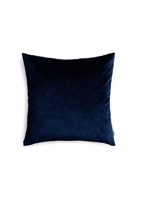 New Works - Cushion - Velvet Cushion - By Malene Birger - Marine Blue