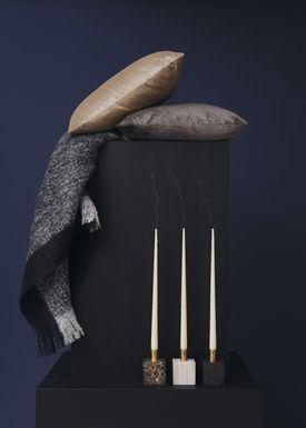 New Works - Cushion - Velvet Cushion - By Malene Birger - Sand