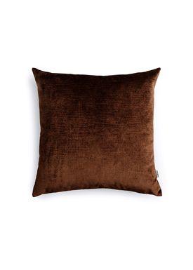 New Works - Cushion - Velvet Cushion - By Malene Birger - Dark Brown