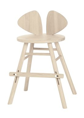 NOFRED - Mat - Mouse Chair Junior - Oak