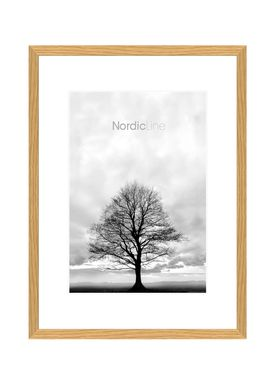 Nordic Line - Frames - Slim - Solid - Wood - Oak / 30 x 40