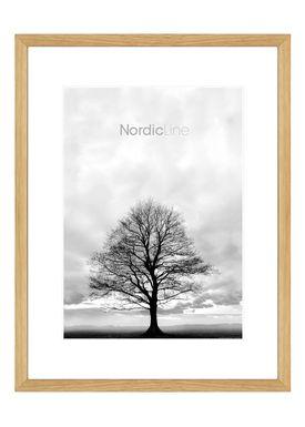 Nordic Line - Frames - Slim - Solid - Wood - Solid Oak / 50 x 70