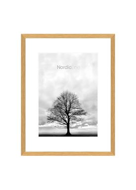 Nordic Line - Frames - Slim - Solid - Wood - Oak / A4