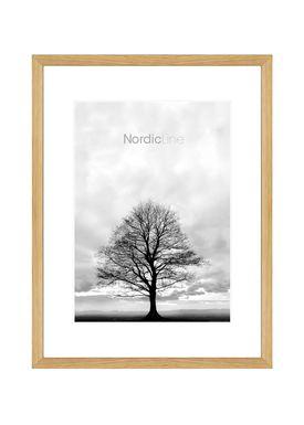 Nordic Line - Frames - Slim - Solid - Wood - Solid Oak / A3