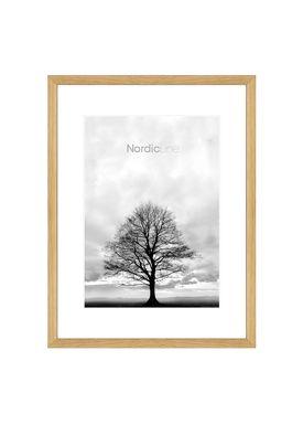 Nordic Line - Frames - Slim - Solid - Wood - Solid Oak / A4