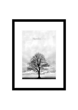 Nordic Line - Frames - Slim - Solid - Wood - Matt Black / A4