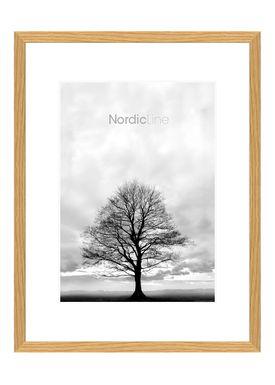 Nordic Line - Frames - Slim - Solid - Wood - Oak / 50 x 70
