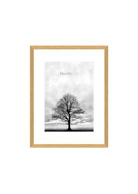 Nordic Line - Frames - Slim - Solid - Wood - Oak / A5