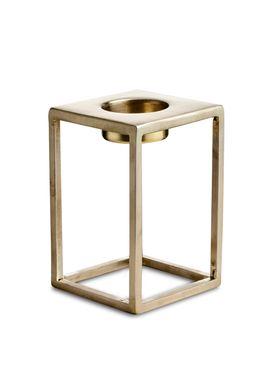 Nordstjerne - Candlestick - Basic T-light Holder - Medium - Brass