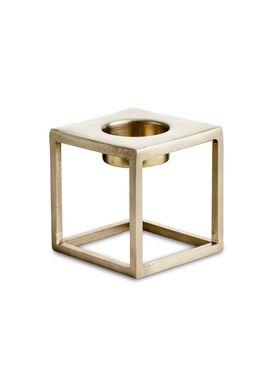 Nordstjerne - Candlestick - Basic T-light Holder - Small - Brass
