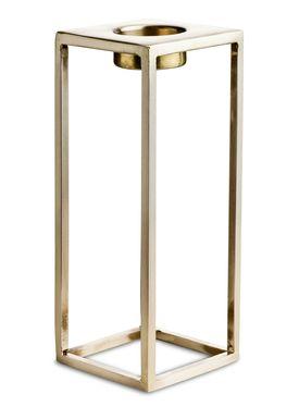 Nordstjerne - Candlestick - Basic T-light Holder - XLarge - Brass
