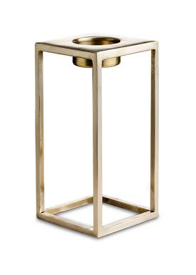 Nordstjerne - Candlestick - Basic T-light Holder - Large - Brass