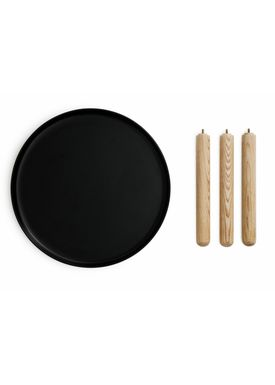 Normann Copenhagen - Table - Tablo Table - Large - Black