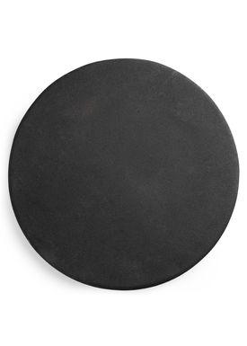 Normann Copenhagen - Tray - Heima Plate - Black