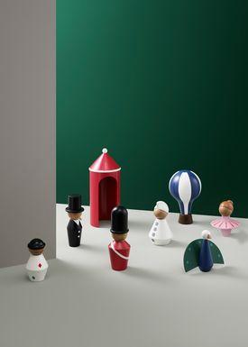 Normann Copenhagen - Figure - Tale Figurines - Small - Peacock