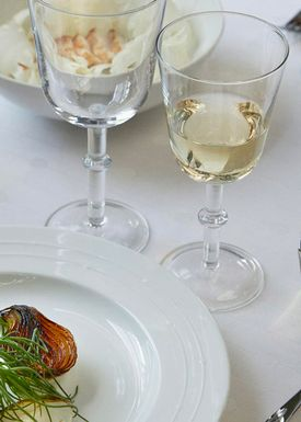 Normann Copenhagen - Glass - Banquet Glasses - White Wine Glass