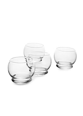 Normann Copenhagen - Glass - Rocking Glass - Clear