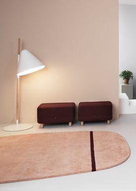 Normann Copenhagen - Rug - Oona Carpet - Grey / 175x240