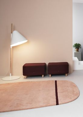 Normann Copenhagen - Rug - Oona Carpet - Rose / 175x240