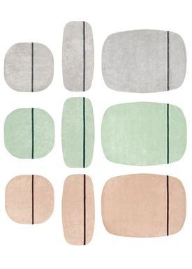 Normann Copenhagen - Rug - Oona Carpet - Grey / 90x200