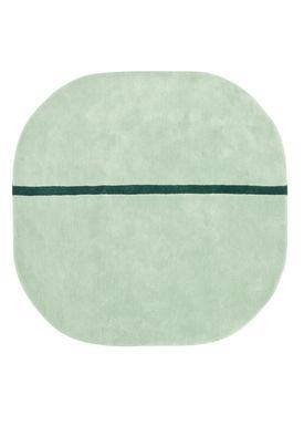 Normann Copenhagen - Rug - Oona Carpet - Mint / 140x140
