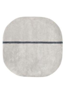 Normann Copenhagen - Rug - Oona Carpet - Grey / 140x140