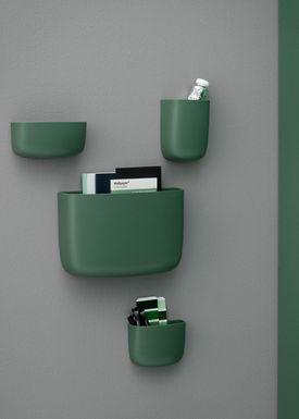 Normann Copenhagen - Shelf - Pocket Organizer - No. 3 - Dark Green