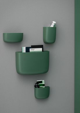 Normann Copenhagen - Hylde - Pocket Organizer - No. 3 - Mørkegrøn