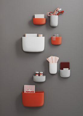 Normann Copenhagen - Hylde - Pocket Organizer - No. 1 - Hvid