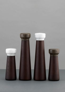 Normann Copenhagen - Mill - Craft Pepper Mill - Small - brown/stained oak